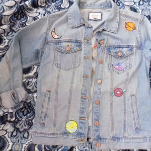 Cosmic World Denim Jacket
